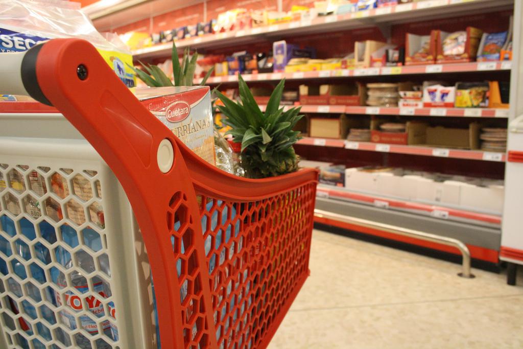 Al supermercato.