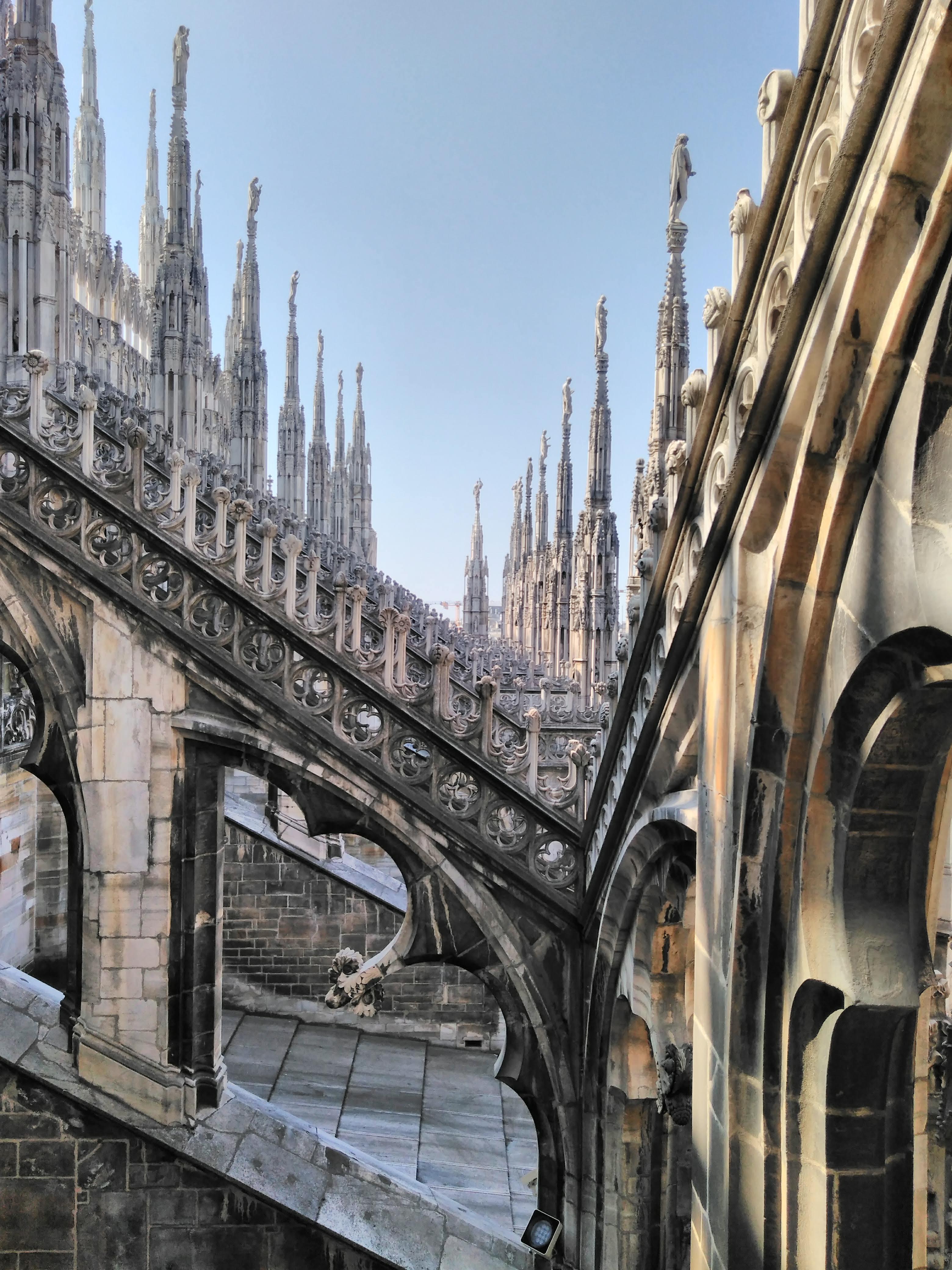 Due passi tra le guglie: le terrazze del duomo di Milano