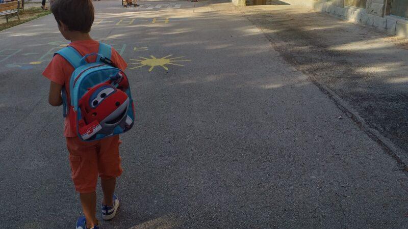 Il primo giorno di scuola. L'ultimo.