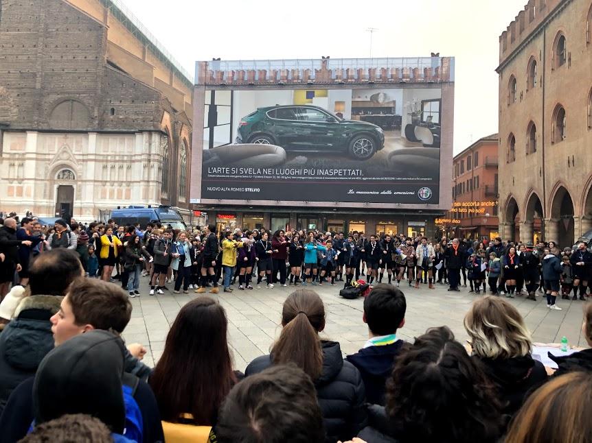 Gli scout e il flash mob contro la mafia (con occhi di mamma)