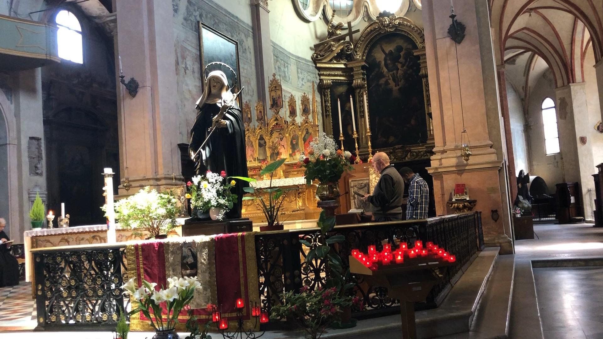 Santa Rita (pensieri sparsi dopo una visita nel giorno sbagliato)