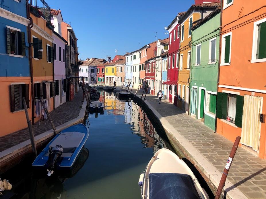 Burano, case sul canale