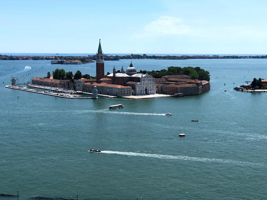 L?isola di San Giacomo Maggiore, vista dal campanile di San Marco