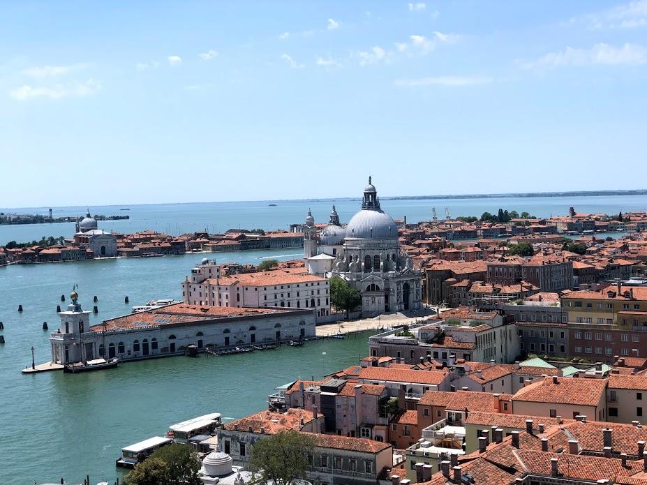 Campanile di San Marco, vista sulla Dogana