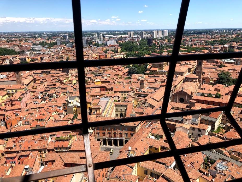 Bologna, vista dalla Torre degli Asinelli