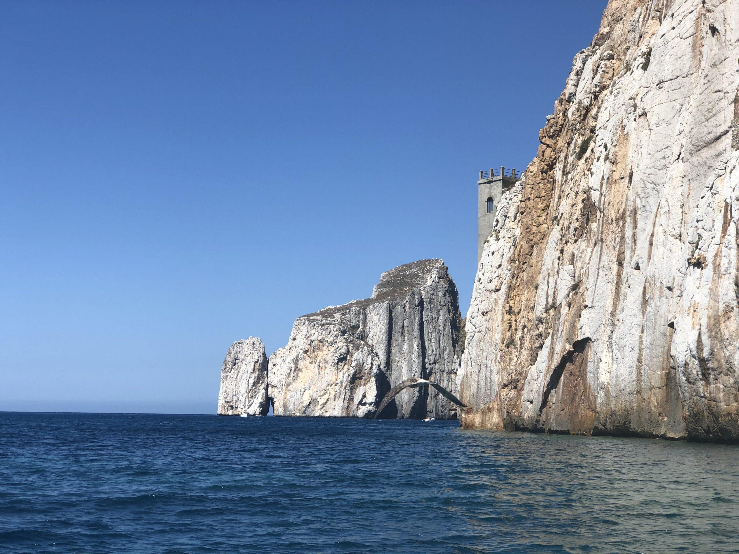 Masua, Pan di Zucchero e le grotte della costa