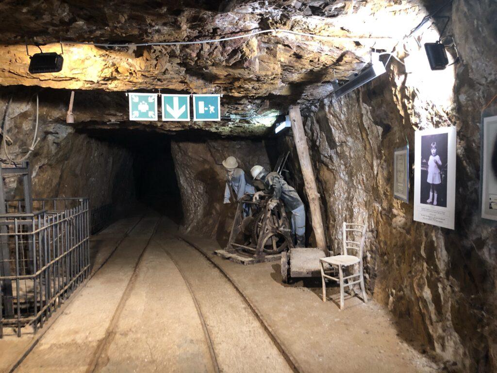 Porto Flavia, interno della galleria