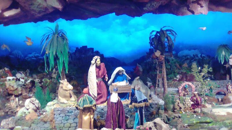 Cagliari, il presepe di Sant'Ignazio